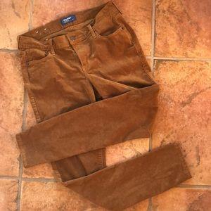 Old Navy Rockstar Corduroy Skinny Jeans 6